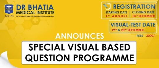 Visual Based Programme at Dr. Bhatia Medical Institute